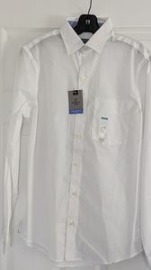 Van Heusen Wrinkle Free Slim Fit White long Sleeve